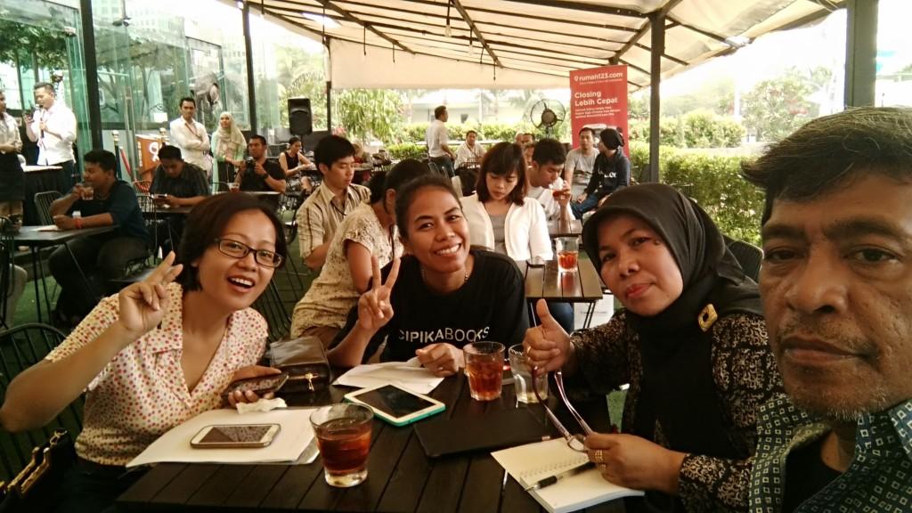 Blogger yang mengikuti acara Rumah123.com (dok pribadi Nur Terbit)