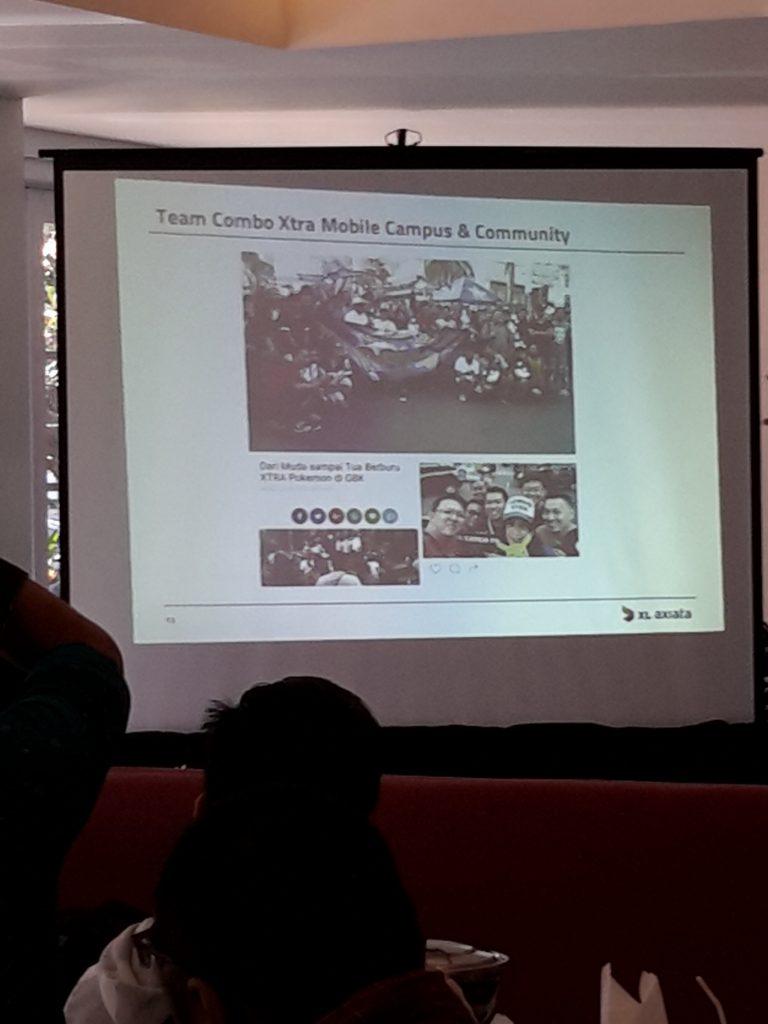Suasana peluncuran program baru XL, Combo Xtra Merdeka (foto : Sitti Rabiah)