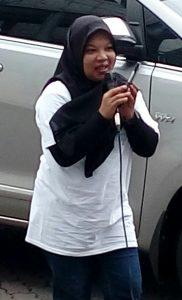 ANI BERTA, Sekjen IWATA, Indonesian Woman IT Awareness (foto Sitti Rabiah)