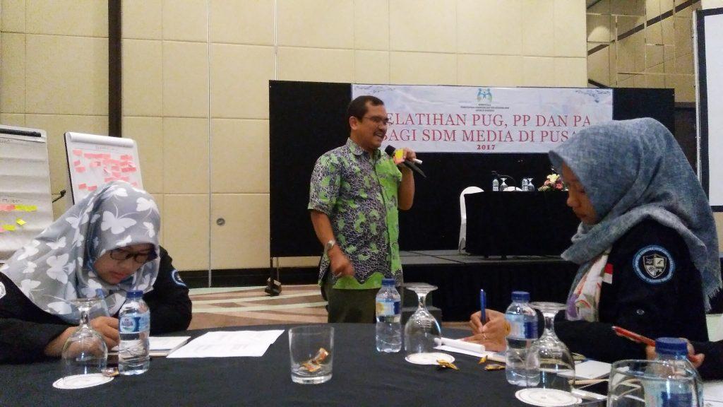 Budi Hartono, Kabid Partisipasi Media KPPA (dok pribadi)