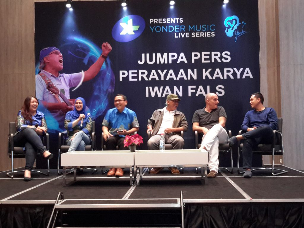 Acara jumpa pers bersama Iwan Fals (Foto : Sitti Rabiah)